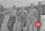 Image of British MPs visiting Buchenwald Concentration Camp Buchenwald Germany, 1945, second 1 stock footage video 65675055080