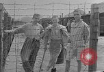 Image of British MPs visiting Buchenwald Concentration Camp Buchenwald Germany, 1945, second 3 stock footage video 65675055080