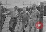 Image of British MPs visiting Buchenwald Concentration Camp Buchenwald Germany, 1945, second 4 stock footage video 65675055080