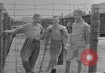 Image of British MPs visiting Buchenwald Concentration Camp Buchenwald Germany, 1945, second 6 stock footage video 65675055080