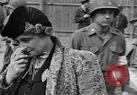 Image of British MPs at Concentration camp Buchenwald Germany, 1945, second 10 stock footage video 65675055081