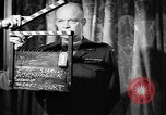 Image of Dwight Eisenhower speech on VE Day Paris France, 1945, second 6 stock footage video 65675055089