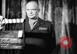 Image of Dwight Eisenhower speech on VE Day Paris France, 1945, second 8 stock footage video 65675055089