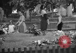 Image of Thomas Masaryk's tomb Lana Czechoslovakia, 1946, second 9 stock footage video 65675055103