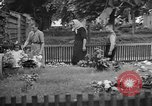 Image of Thomas Masaryk's tomb Lana Czechoslovakia, 1946, second 10 stock footage video 65675055103