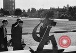 Image of Russian monument Czechoslovakia, 1946, second 2 stock footage video 65675055104