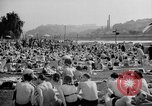 Image of River Vltava Prague Czechoslovakia, 1946, second 3 stock footage video 65675055105