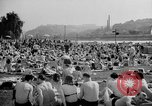 Image of River Vltava Prague Czechoslovakia, 1946, second 5 stock footage video 65675055105