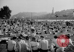 Image of River Vltava Prague Czechoslovakia, 1946, second 6 stock footage video 65675055105