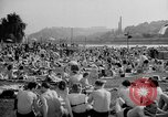 Image of River Vltava Prague Czechoslovakia, 1946, second 7 stock footage video 65675055105