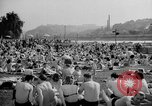 Image of River Vltava Prague Czechoslovakia, 1946, second 8 stock footage video 65675055105