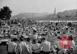 Image of River Vltava Prague Czechoslovakia, 1946, second 9 stock footage video 65675055105