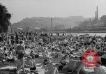 Image of River Vltava Prague Czechoslovakia, 1946, second 11 stock footage video 65675055105
