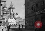 Image of church of Tyn Prague Czechoslovakia, 1946, second 5 stock footage video 65675055106
