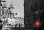 Image of church of Tyn Prague Czechoslovakia, 1946, second 9 stock footage video 65675055106