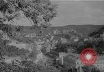 Image of Russian officers and soldiers Karlovy Vary Czechoslovakia, 1946, second 1 stock footage video 65675055107