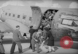 Image of repatriation of French war prisoners Paris France, 1945, second 10 stock footage video 65675055143
