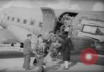 Image of repatriation of French war prisoners Paris France, 1945, second 11 stock footage video 65675055143