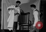 Image of hair cutting saloon Portland Oregon USA, 1931, second 10 stock footage video 65675055144