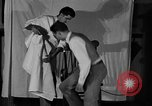 Image of hair cutting saloon Portland Oregon USA, 1931, second 11 stock footage video 65675055144