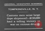 Image of seized drug shipment New York City USA, 1931, second 2 stock footage video 65675055146