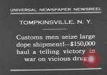Image of seized drug shipment New York City USA, 1931, second 6 stock footage video 65675055146