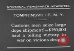 Image of seized drug shipment New York City USA, 1931, second 7 stock footage video 65675055146