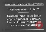 Image of seized drug shipment New York City USA, 1931, second 8 stock footage video 65675055146