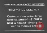 Image of seized drug shipment New York City USA, 1931, second 9 stock footage video 65675055146
