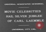 Image of Carl Laemmle Los Angeles California USA, 1931, second 3 stock footage video 65675055149
