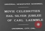 Image of Carl Laemmle Los Angeles California USA, 1931, second 5 stock footage video 65675055149