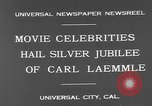 Image of Carl Laemmle Los Angeles California USA, 1931, second 6 stock footage video 65675055149