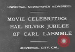Image of Carl Laemmle Los Angeles California USA, 1931, second 7 stock footage video 65675055149