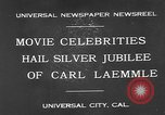 Image of Carl Laemmle Los Angeles California USA, 1931, second 9 stock footage video 65675055149