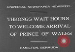 Image of Prince of Wales Hamilton Bermuda, 1931, second 3 stock footage video 65675055152