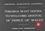 Image of Prince of Wales Hamilton Bermuda, 1931, second 4 stock footage video 65675055152