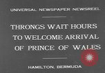 Image of Prince of Wales Hamilton Bermuda, 1931, second 5 stock footage video 65675055152