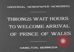 Image of Prince of Wales Hamilton Bermuda, 1931, second 9 stock footage video 65675055152