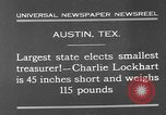 Image of Charlie Lockhart Austin Texas USA, 1931, second 2 stock footage video 65675055153