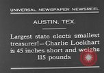 Image of Charlie Lockhart Austin Texas USA, 1931, second 4 stock footage video 65675055153