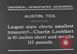 Image of Charlie Lockhart Austin Texas USA, 1931, second 5 stock footage video 65675055153