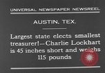 Image of Charlie Lockhart Austin Texas USA, 1931, second 6 stock footage video 65675055153