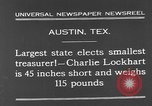 Image of Charlie Lockhart Austin Texas USA, 1931, second 7 stock footage video 65675055153