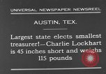 Image of Charlie Lockhart Austin Texas USA, 1931, second 9 stock footage video 65675055153
