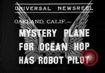 Image of Mystery plane Oakland California USA, 1935, second 1 stock footage video 65675055154