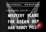 Image of Mystery plane Oakland California USA, 1935, second 4 stock footage video 65675055154