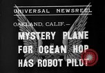 Image of Mystery plane Oakland California USA, 1935, second 5 stock footage video 65675055154
