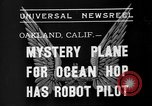 Image of Mystery plane Oakland California USA, 1935, second 6 stock footage video 65675055154