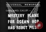 Image of Mystery plane Oakland California USA, 1935, second 8 stock footage video 65675055154