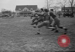 Image of American football players South Bend Indiana USA, 1935, second 9 stock footage video 65675055158